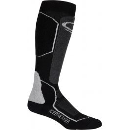 Pánské podkolenky Icebreaker Mens Ski+ Medium OTC (2018) Velikost ponožek: 47-49 / Barva: černá