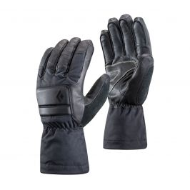 Rukavice Black Diamond Spark Powder Gloves Velikost rukavic: M / Barva: šedá