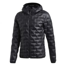 Pánská bunda Adidas Light Down Ho Velikost: S-M / Barva: černá