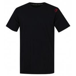 Pánské triko Rafiki Slack kr. rukáv Velikost: S / Barva: černá