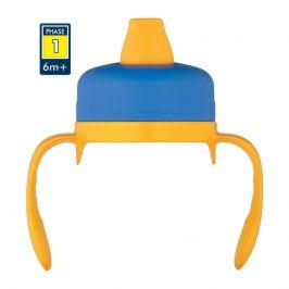 Měkké pítko Thermos pro kojeneckou termosku Foogo Barva: modrá/žlutá