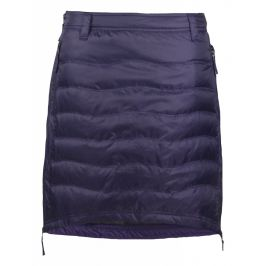 Péřová sukně Skhoop Short Down tmavě fialová (2018) Velikost: S (36) / Barva: fialová
