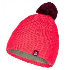Dětská zimní čepice Loap Zodo Obvod hlavy: 46–48 cm / Barva: růžová
