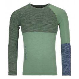 Pánské triko Ortovox 230 Merino Competition LS M Velikost: L / Barva: zelená/světle zelená