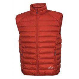 Pánská vesta Warmpeace Drake Velikost: M / Barva:oranžová