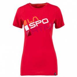 Dámské triko La Sportiva Square T-Shirt W Velikost: M / Barva: červená