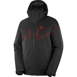 Pánská bunda Salomon Stormrace Jkt Velikost: M / Barva: černá