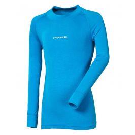 Dětské funkční triko Progress DT E NDRD 26DF dl.r. Dětská velikost: 104 / Barva: modrá