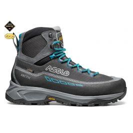 Dámské boty Asolo Arctic GV Velikost bot (EU): 38 / Barva: šedá/modrá