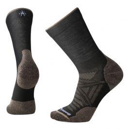 Ponožky Smartwool Phd Outdoor Light Crew Velikost ponožek: 46-49 / Barva: černá
