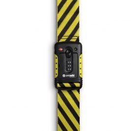 Popruh se zámkem Pacsafe Strapsafe 100 Barva: černá/žlutá
