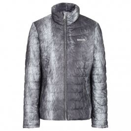 Dámská bunda Regatta Wmns Metallia II Velikost: S / Barva: šedá