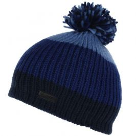 Dětská zimní čepice Regatta Davin Hat II Dětská velikost: 7-10 let / Barva: modrá