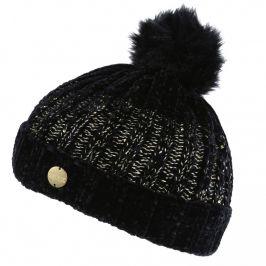 Zimní čepice Regatta Lorelai Hat Obvod hlavy: univerzální cm / Barva: černá