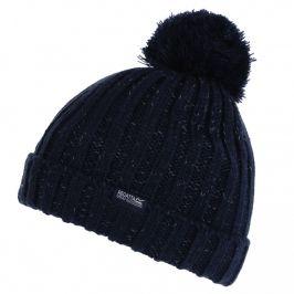 Dětská zimní čepice Regatta Luminosity Hat III Dětská velikost: 4-6 let / Barva: modrá