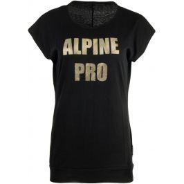 Dámské triko Alpine Pro Tuffa 4 Velikost: S / Barva: černá