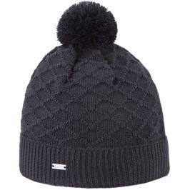 Pletená Merino čepice Kama A124 Barva: černá