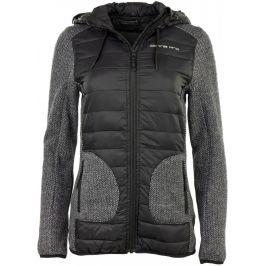 Dámská bunda Alpine Pro Gordana Velikost: XS / Barva: černá/šedá