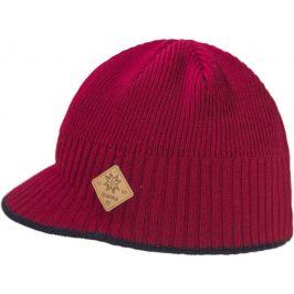 Pletená Merino čepice Kama A115 Velikost: UNI / Barva: červená