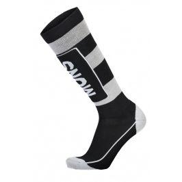 Pánské podkolenky Mons Royale Mons Tech Cushion Sock Velikost ponožek: 45-47 (L) / Barva: černá/šedá