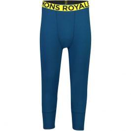 Pánské funkční kalhoty Mons Royale Shaun-off 3/4 Legging Velikost: M / Barva: modrá/žlutá