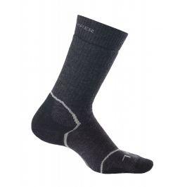 Dámské ponožky Icebreaker Women's Hike+ Medium Crew Velikost ponožek: 35-37 / Barva: tmavě šedá