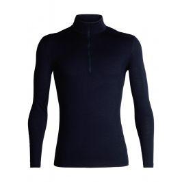 Pánské triko Icebreaker Mens 200 Oasis LS Half Zip Velikost: M / Barva: tmavě modrá