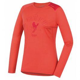 Dámské funkční triko Husky Merino 100 dl. rukáv Sheep Velikost: M / Barva: růžová