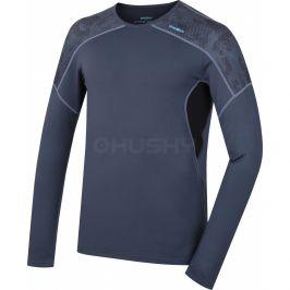 Pánské funkční triko Husky Active Winter long šedá Velikost: XL / Barva: šedá