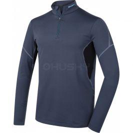 Pánské funkční triko Husky Active Winter zip dl.rukáv Velikost: M / Barva: antracit