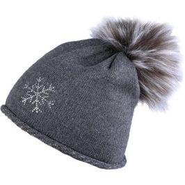 Zimní čepice Sherpa Nadia Barva: tmavě šedá