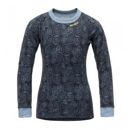 Dětské funkční triko Devold Active Kid Shirt Dětská velikost: 104 (4) / Barva: modrá