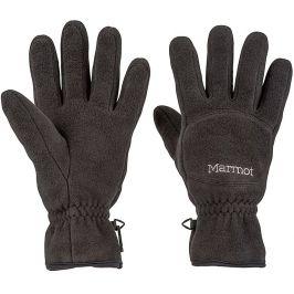 Pánské rukavice Marmot Fleece Glove Velikost rukavic: M / Barva: černá