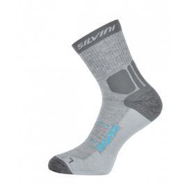 Ponožky Silvini Vallonga UA522 Velikost ponožek: 45-47 / Barva: šedá/modrá