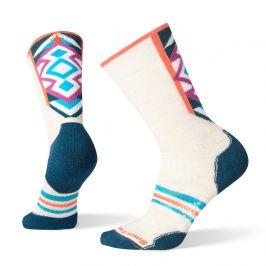 Dámské ponožky Smartwool W Phd Nordic Medium Velikost ponožek: 34-37 / Barva: bílá