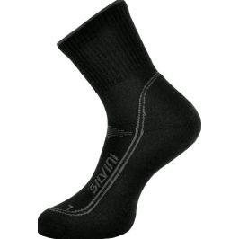 Ponožky Silvini Merino Lattari UA904 Velikost ponožek: 36-38 / Barva: černá
