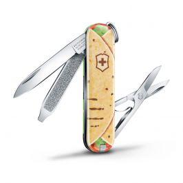 Kapesní nůž Victorinox Classic LE Mexican Tacos Barva: béžová