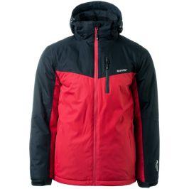Pánská zimní bunda Hi-Tec Brener Velikost: M / Barva: černá/červená