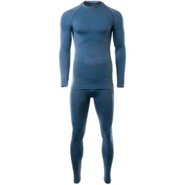 Pánské termoprádlo Hi-Tec Zareen set Velikost: Xl-XXL / Barva: modrá
