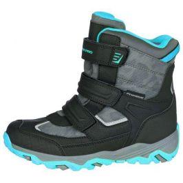 Dětské zimní boty Alpine Pro Acacio Dětské velikosti bot: 30 / Barva: černá/modrá