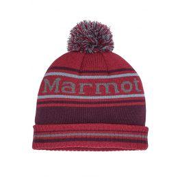 Čepice Marmot Retro Pom Hat Obvod hlavy: univerzální cm / Velikost: UNI / Barva: červená