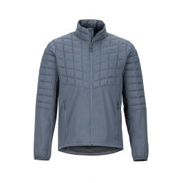 Pánská bunda Marmot Featherless Hybrid Jacket Velikost: M / Barva: šedá