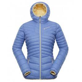 Dámská zimní bunda Alpine Pro Munsra 5 Velikost: L / Barva: modrá/žlutá