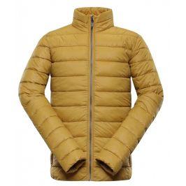 Pánská zimní bunda Alpine Pro Tatar 2 Velikost: L / Barva: béžová