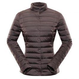 Dámská zimní bunda Alpine Pro Roza Velikost: M / Barva: hnědá
