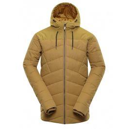 Pánská zimní bunda Alpine Pro Gabriell 3 Velikost: S / Barva: béžová