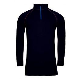 Pánské funkční triko Alpine Pro Genet 2 Velikost: M-L / Barva: černá