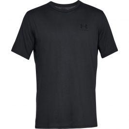 Pánské triko Under Armour Sportstyle Left Chest SS Velikost: M / Barva: černá