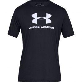 Pánské triko Under Armour Sportstyle Logo SS Velikost: L / Barva: černá