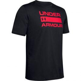 Pánské triko Under Armour Team Issue Wordmark SS Velikost: S / Barva: černá